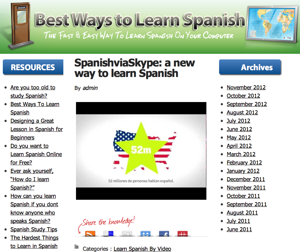 What's the BEST, and QUICKEST way to learn Spanish ...
