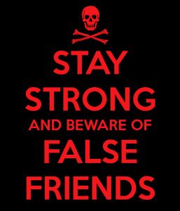 false friends cartel
