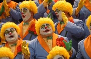 Las chirigotas son muy características del carnaval de Cádiz