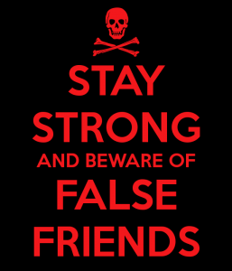 false friends cartel